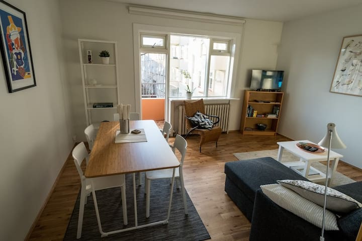 Cozy Apartment in central Reykjavik - Reiquiavique - Apartamento
