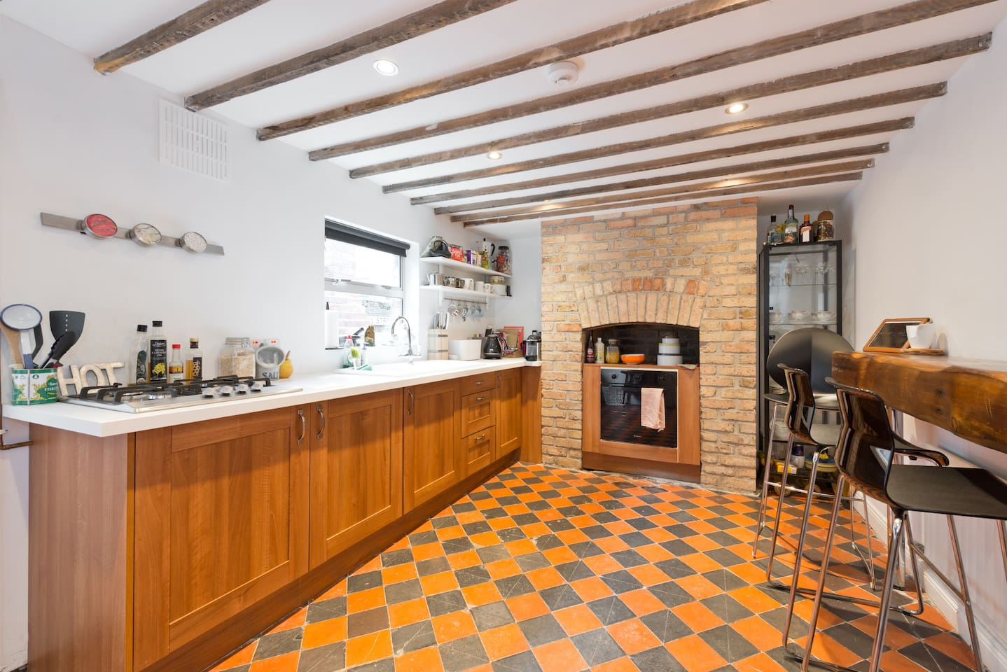 Kitchen with beautiful features