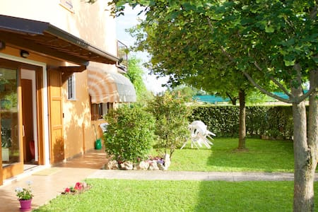 Apartment with garden - manerba del garda