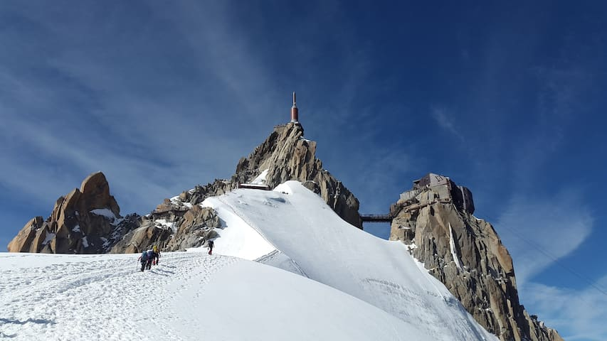 Make sure to visit the Aiguille du Midi during your stay in Saint-Gervais-Les-Bains!