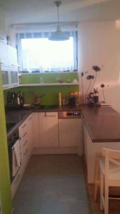 New kitchen with dishwasher