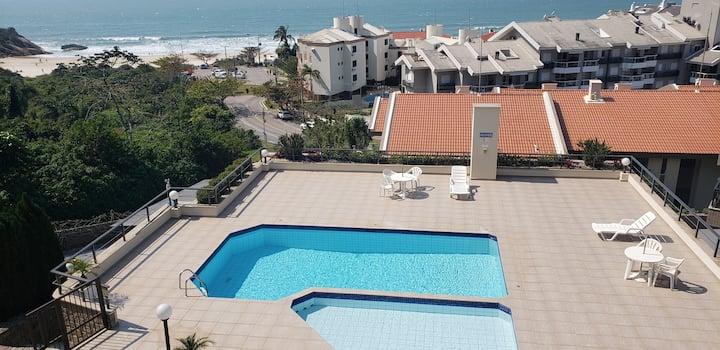 Apartamento com vista magnífica para o mar