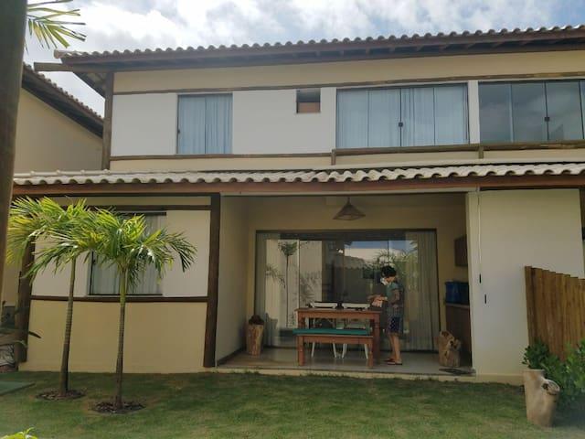 Área externa da casa / Outdoor area