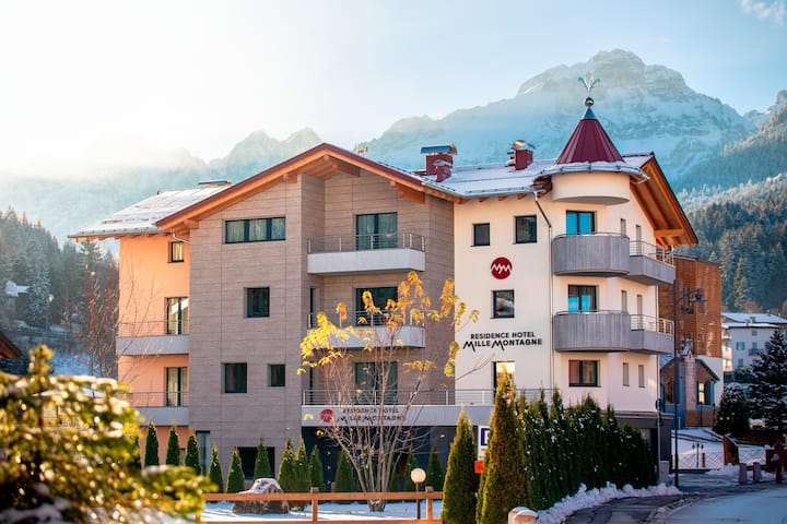 Appartamento Lampone - Residence Mille Montagne
