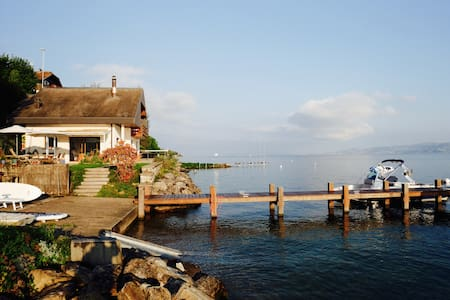 Waterside villa near Evian and Montreux. - Publier - วิลล่า