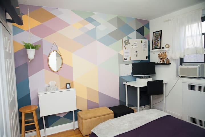 Private & comfortable room near Prospect Park