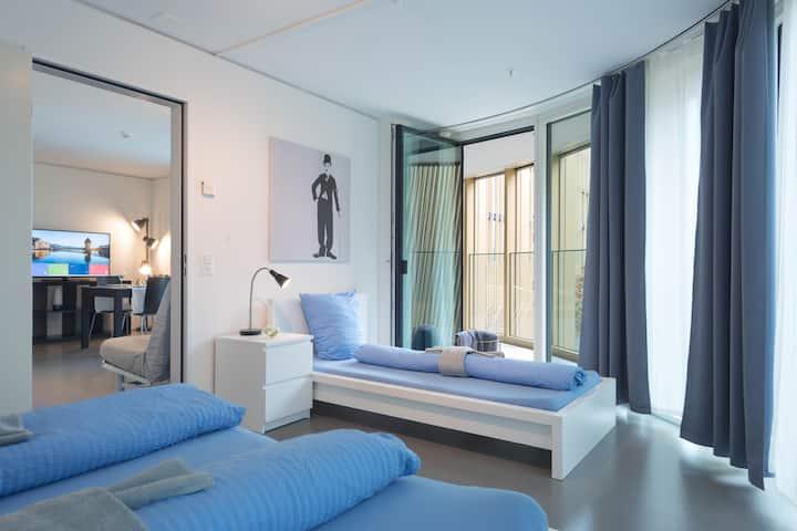 Bright 2.5 room Apartment Pilatus I