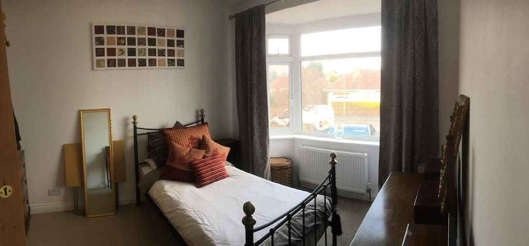 Homely Single Room - Bournemouth - Casa