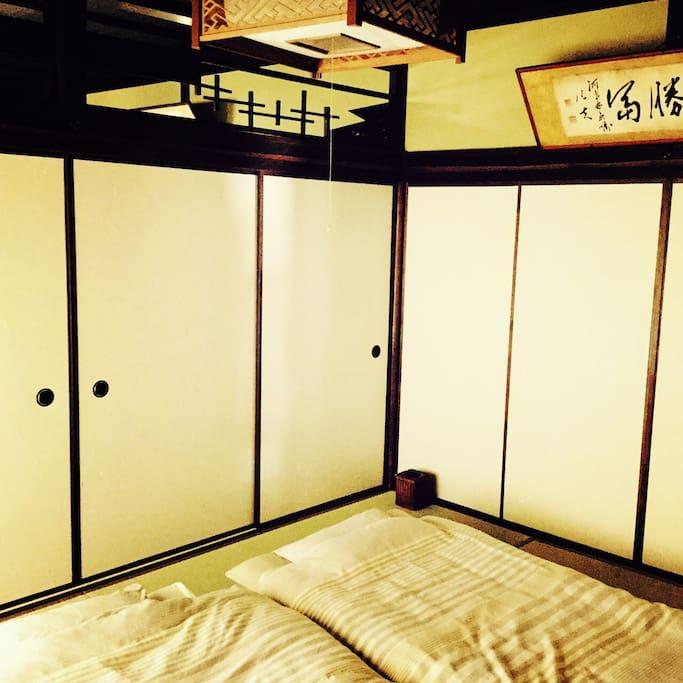 6 kansai- tatami- mat guest room