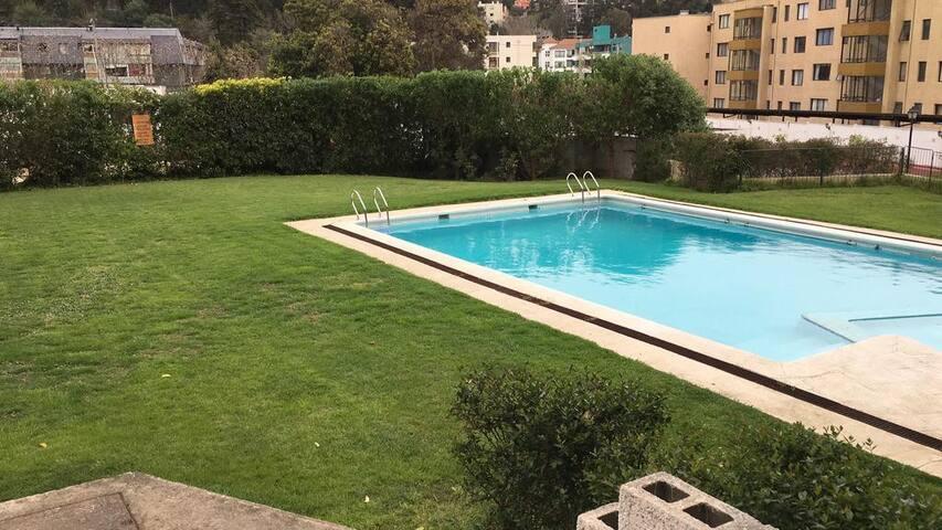 Habitación doble en Reñaca, Viña Del Mar.