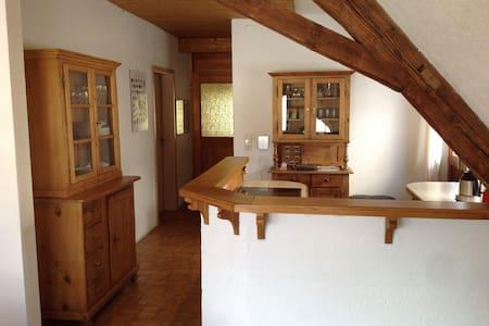 60qm, 2.OG, Schwarzwald Mitte - Apartament