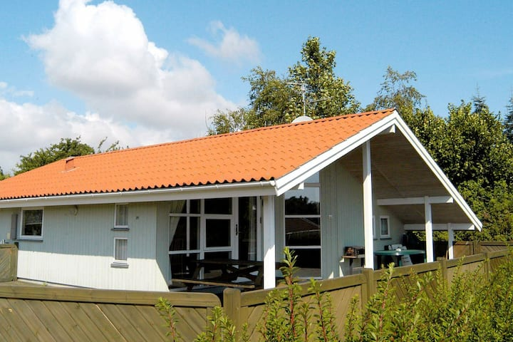 Splendid Holiday Home in Bjert with Roofed Terrace