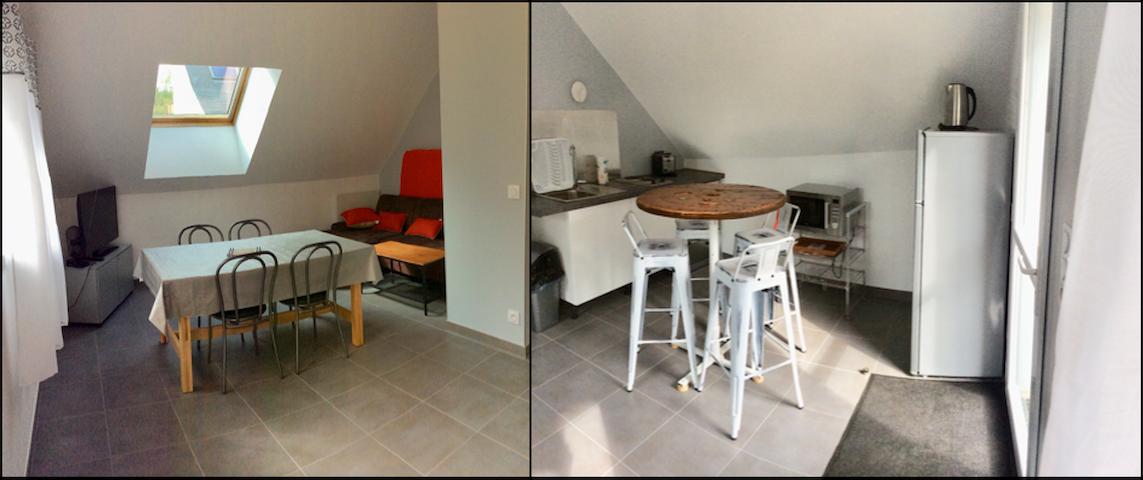 Appartement meublé Camors