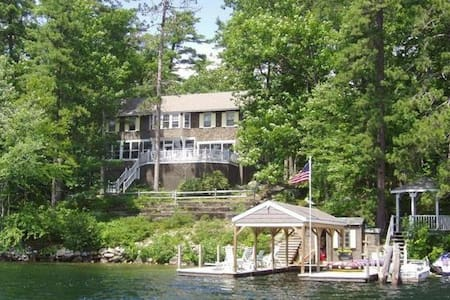 Winnipesaukee Lakefront Home in Winter Harbor - Wolfeboro