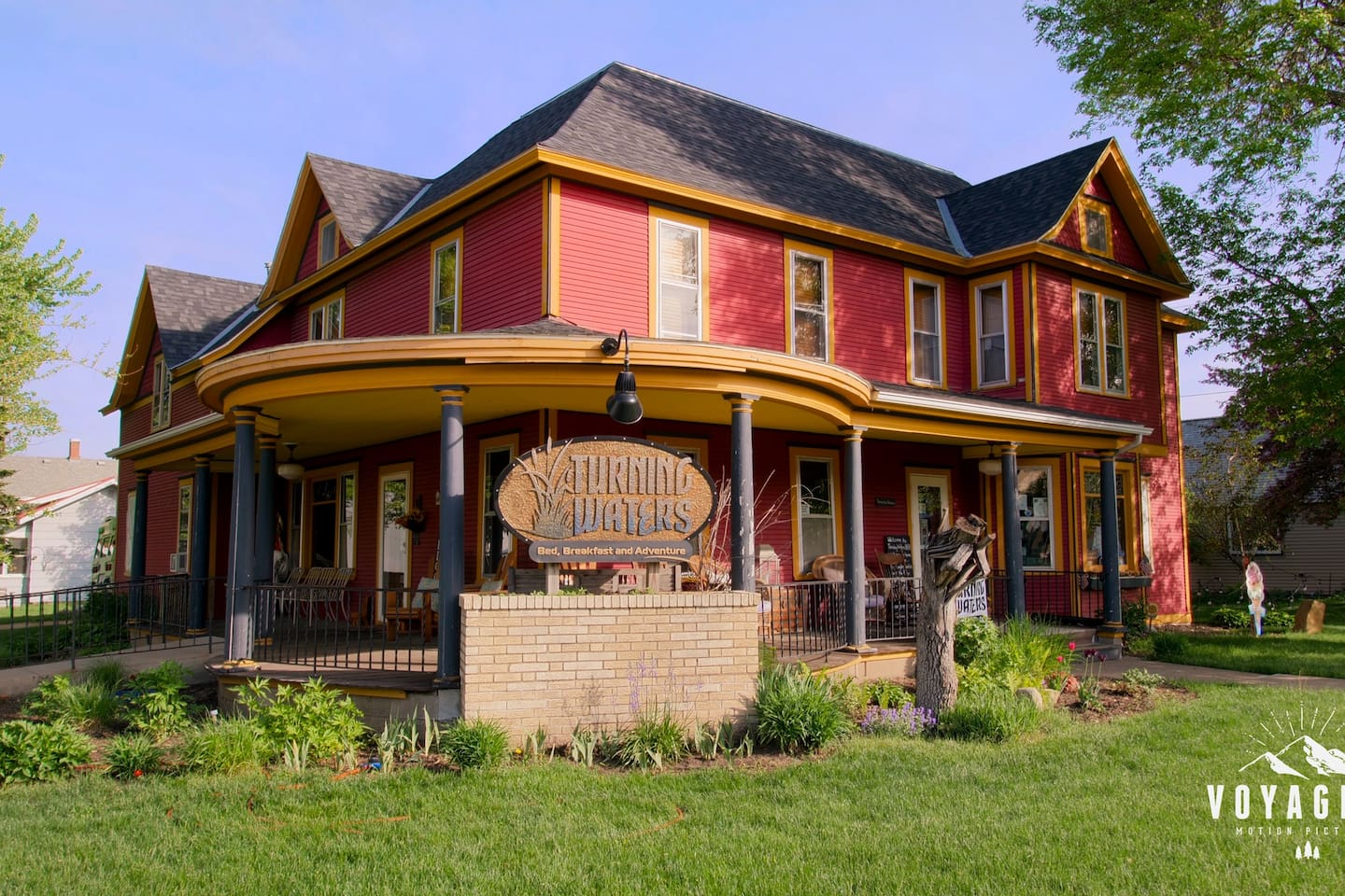 Turning Waters Bed, Breakfast, Adventure & Brewery (located in the back yard)
