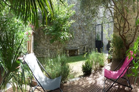 BEAUTIFUL COTTAGE ALL INCLUDE IN DRÔME PROVENÇALE - Grignan - Earth House