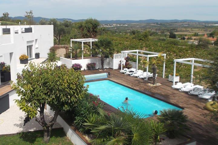 Maison/Appart WORLD T3 4/5 Pers piscine