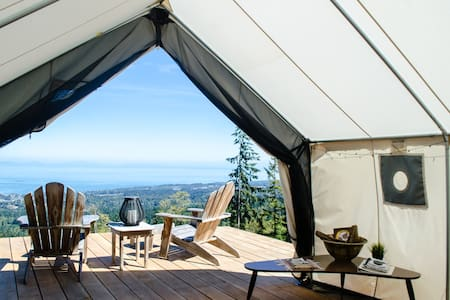 Best View Around: Luxury Camping