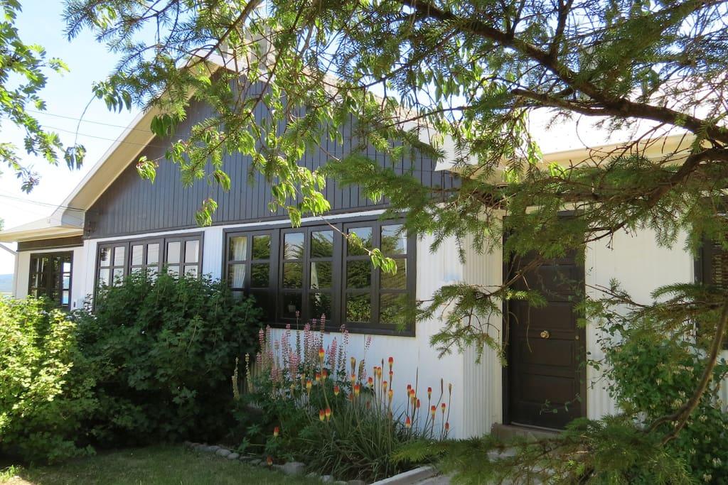 Fachada casa cottage