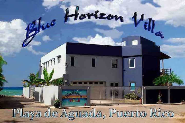 Blue Horizon Villa Direct Beach 5Br Home w Rooftop
