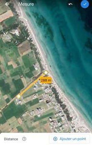 villa de vacances au bord de la mer (hamem elhzez)