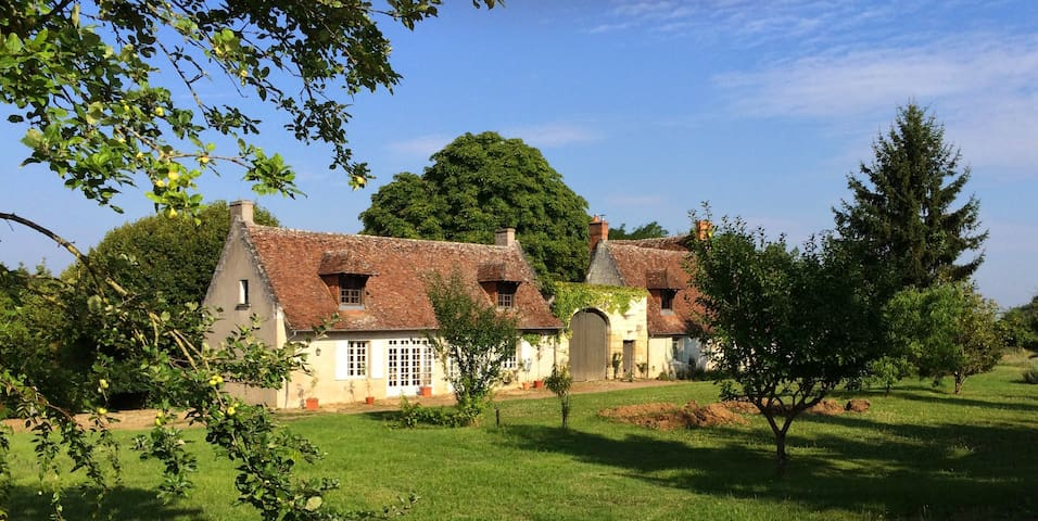 Lovely Cottage between Tours and Amboise - Azay-sur-Cher - Casa