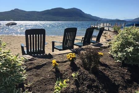 Perfect Kids-Pet Friendly Cottage on Lake George - Silver Bay - Casa