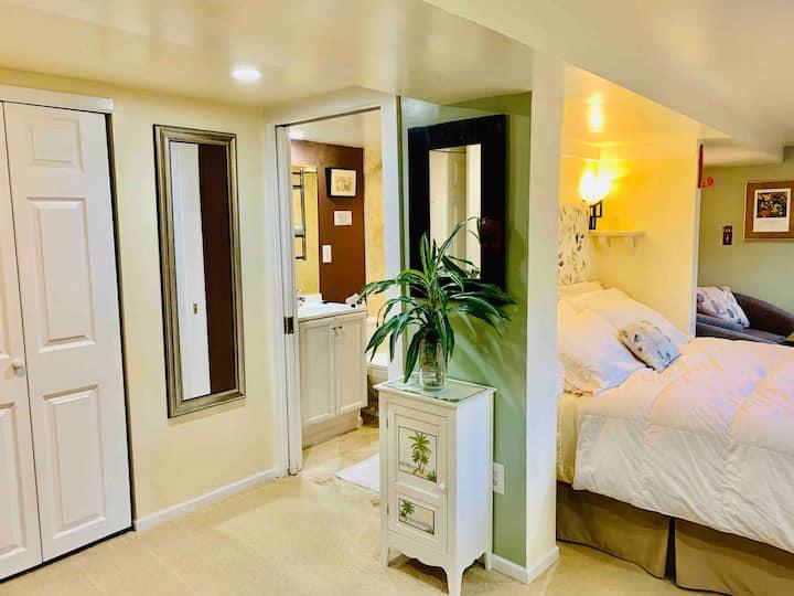Private Queen Anne Studio Suite