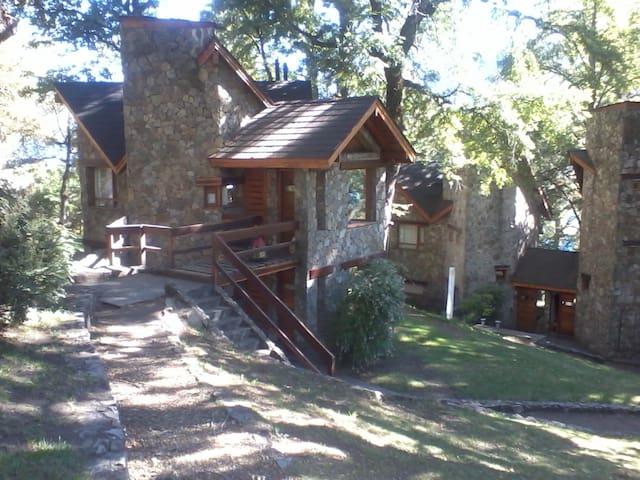 Cabaña de ensueño en Paihuen  junto al lago Lacar