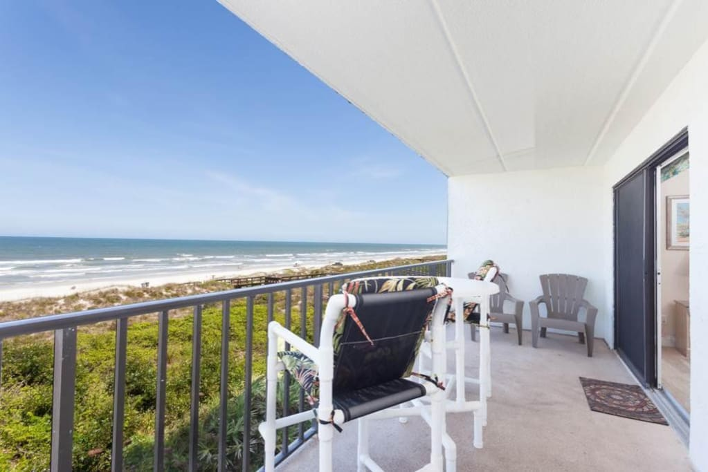 Step out on the patio and breathe in the fresh ocean air - There's nothing quite like breathing in the fresh ocean air and listen
