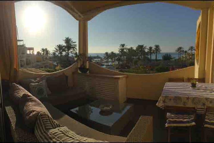 Beautiful 2BD with sea view in Rimal Beach Resort