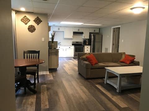 Escape tranquilo ~Moderna suite 1BD en Greenway