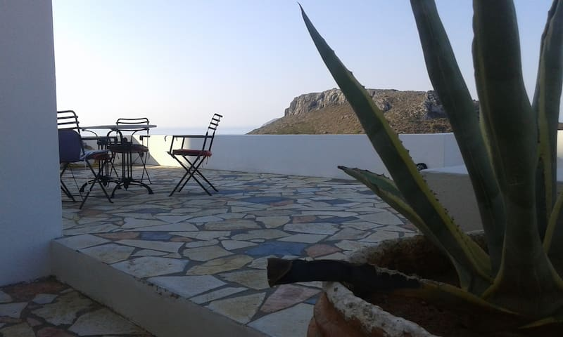 House with wonderful view in Chora, Kythera. - Kithira