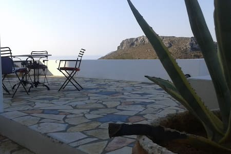 House with wonderful view in Chora, Kythera.