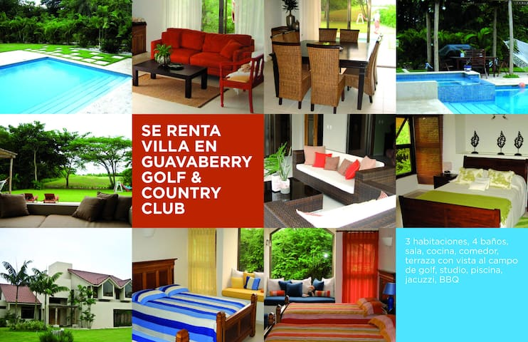 Villa Golf Guavaberry