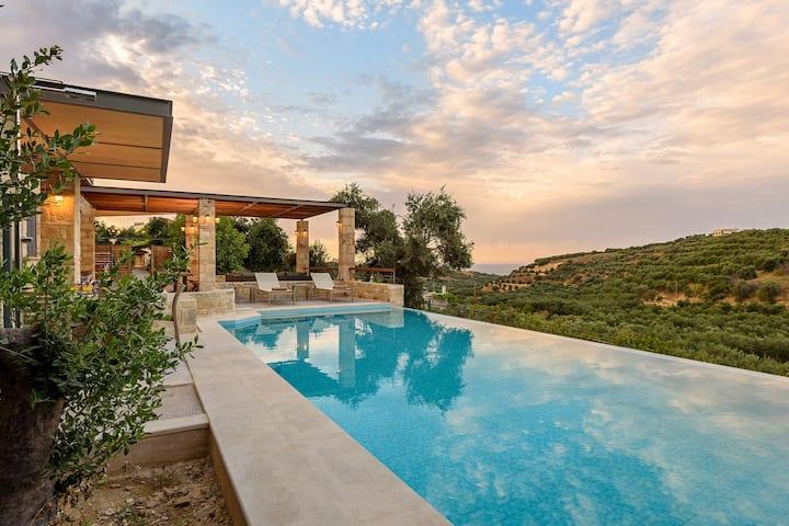 Margarita's Villa V - Villa on a quiet hill slope