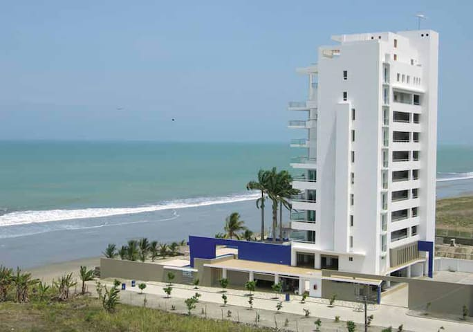 Ocean front, Privéstrand, Resort, Tonsupa, Ecuador - Tonsupa - Appartement