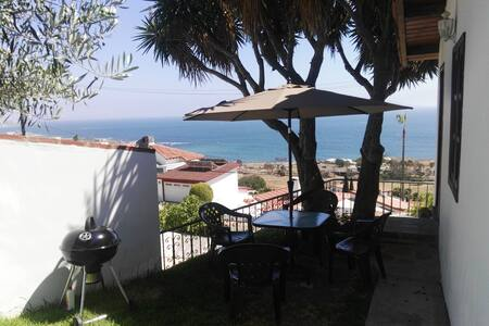 Ocean view apartment and terrace