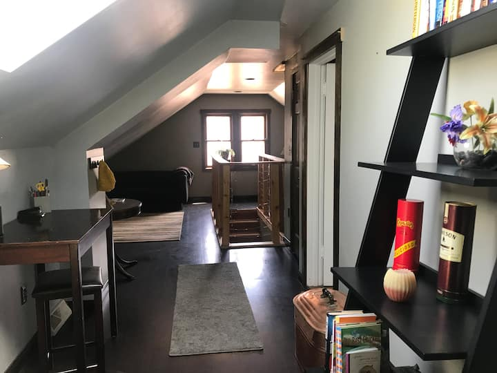Spacious fully renovated upper with shared space