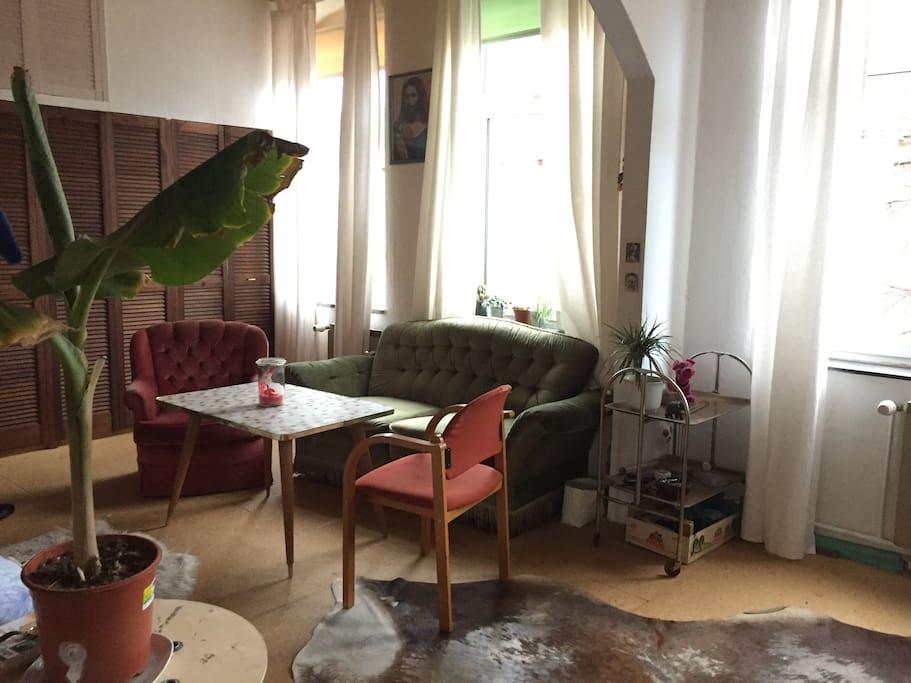 Zentrales privatzimmer apartments for rent in hannover for Wohn und esszimmer 30m2