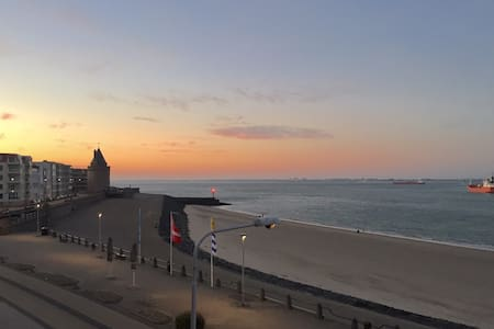 Studio 3: next to the sea and breathtaking views - Vlissingen - Διαμέρισμα