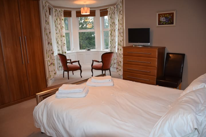 Double room with stunning views en-suite