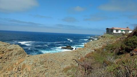 Cabaña para 2 con hermosa vista al mar