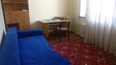 Nice and cheap room close to riverside, right bank