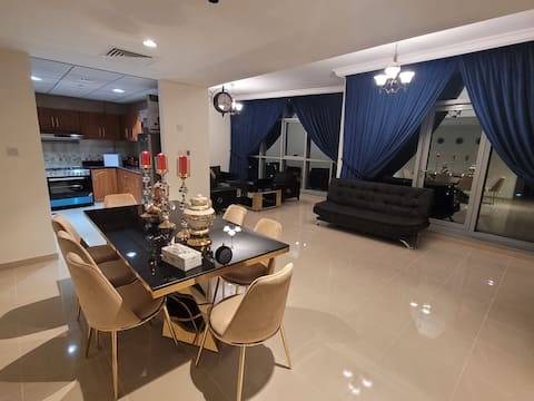 luxury 2 bedroom full furnished apartment with beachfront