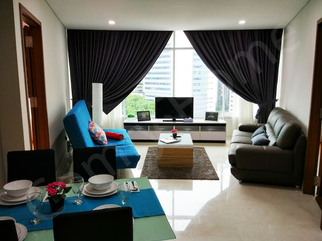 HOME SWEET HOME at the heart of K.L city / KLCC