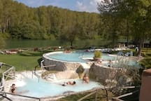 terme suio (the resort of suio offers thermal pools)