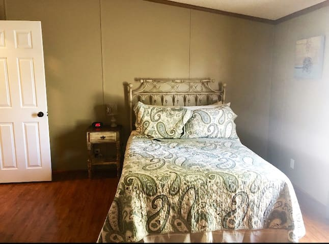 Bedroom 3 with two full size beds