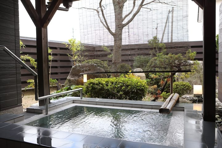 Family-run inn Koinoyu located Hawaii hot spring