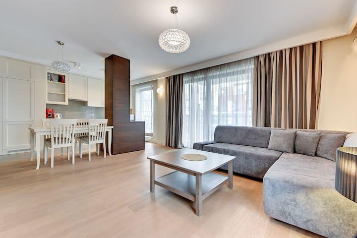 Apartament z 2 sypialniami i balkonem (18) - Gdańsk - Apartment